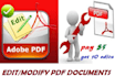 edit or modify PDF or create fillable pdf forms
