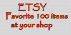 favorite AND view all items at your Etsy shop