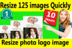 resize image logo photo resize125 images within 10hrs
