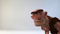 intro video with caveman