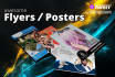 design attractive Flyers and Posters