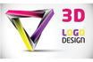 design 3D High quality Logo for you