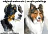 paint original portrait painting of your pet