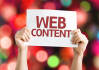 write Complete WEBSITE Content