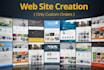 make wordpress website Only Custom orders