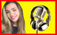 record a professional female voice over within 24 hours