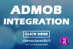 integrate admob in your mobile app