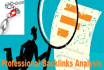 do Professional Backlink Analysis