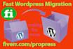 move wordpress tranfer wordpress or copy wordpress website