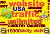 drive super targeted website,traffic,10000 daily visitors