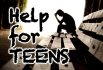 listen and provide advice to a troubled adult or teen