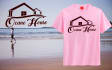 create T SHIRT Design with your ideas and Your Company