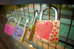 place the padlock of love in Russian cities