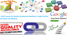 create Quality and Relevant Backlink in High PR Sites