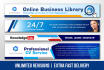 create a web banner design in 24 hours
