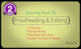 provide PRECISE proofreading and editing