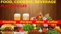 2000 Food, Cooking, Beverage PLR articles