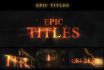 create a epic title promo including your videos