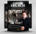 design Awesome church flyer within 10 hours