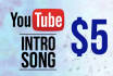 make an Intro Song For Your Youtube Channel