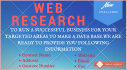 provide companies contacts information and research products
