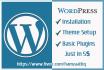 do website design , customization,installation in 5 dollor