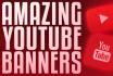 design amazing youtube banners