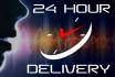 record a professional american voiceover in 24 hours