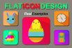 design a flat icon