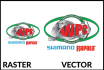 trace, redraw, convert logo or image to vector within 24hrs