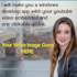 make you a windows app with your youtube video and url link