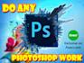 do any photoshop work
