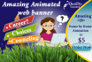 design web banner within 12 hours