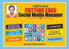 be your cutting edge social media manager