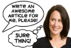 write a unique SEO article of 400 to 500 words in 24 hours