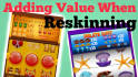 do professional reskin and ASO of your game
