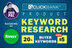 find Buyer Keywords for Clickbank products