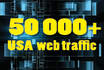 drive USA 50,000,traffic for your website