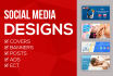 design any Cover, Banner, Post, Ad