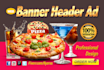 design a professional web banner,ad,header,cover