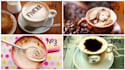 write text or photo in coffee,3 different templates  available