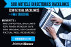 do Article Directory submission To Boost Website Ranking