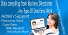 do any type of Data Entry work,and Virtual assistant Support