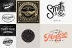 design retro vintage logo stamp badge