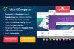 install Wordpress and Visual Composer Plugin