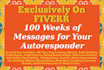 give You 100 Autoresponder Messages