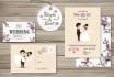 design wedding invitation, wedding stationery