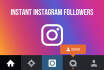 give you Instagram followers instantly