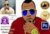 create crazy Cartoon version of your portrait