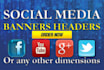 design awesome Social Media Banner or Cover in 24 hrs